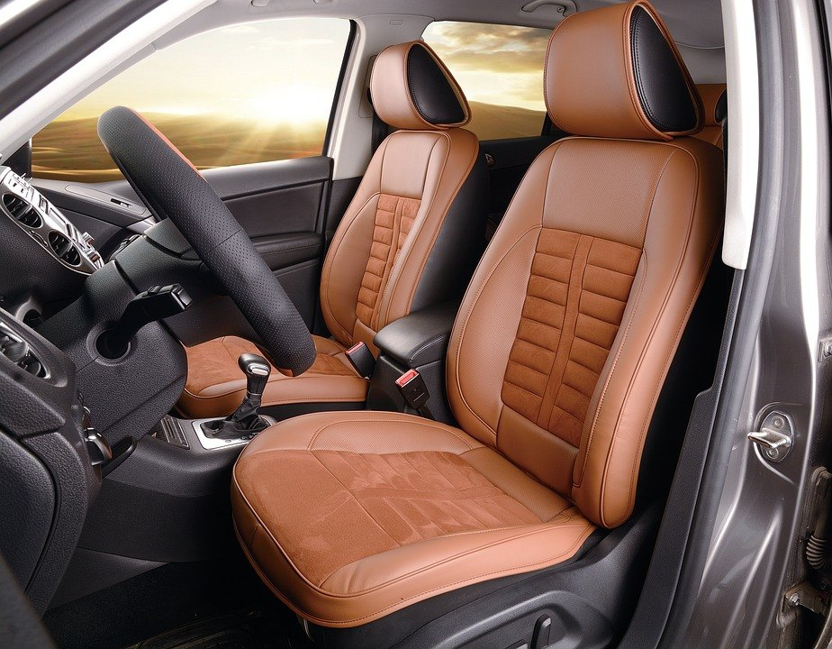 Repairing leather car seat